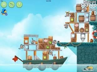 Angry Birds Rio Hidden Harbor Walkthrough Level #7