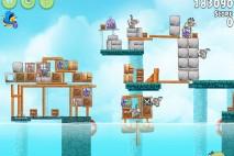 Angry Birds Rio Hidden Harbor Walkthrough Level #9