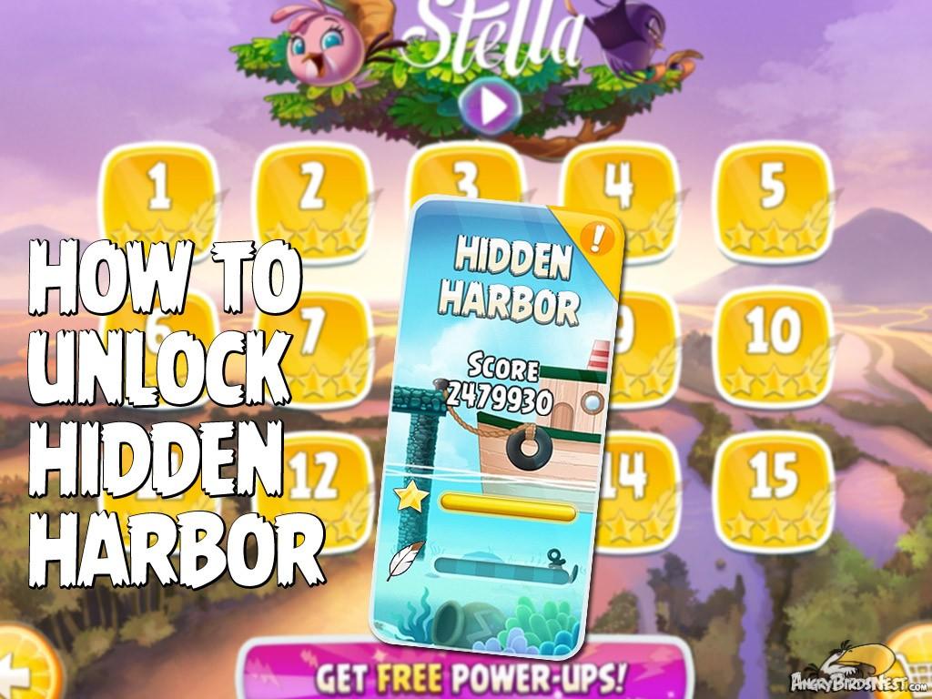 how to unlock angry birds rio hidden harbor episode angrybirdsnest