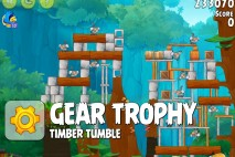 Angry Birds Rio Trophy Room Walkthrough Gear Trophy