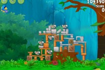 Angry Birds Rio Gear #1 Walkthrough Level 2