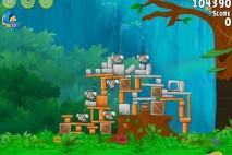 Mighty Eagle Walkthrough Timber Tumble Level 1