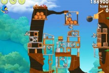 Angry Birds Rio Timber Tumble Walkthrough Level #12
