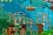 Angry Birds Rio Timber Tumble Walkthrough Level #15