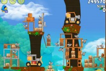 Angry Birds Rio Gear #8 Walkthrough Level 16