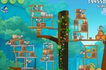 Angry Birds Rio Timber Tumble Walkthrough Level #19