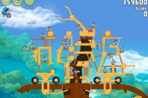 Angry Birds Rio Timber Tumble Walkthrough Level #20