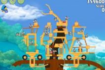 Angry Birds Rio Timber Tumble Walkthrough Level #20