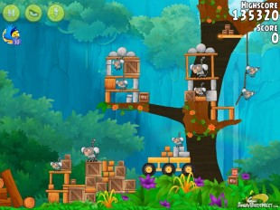Angry Birds Rio Gear #4 Walkthrough Level 7