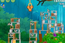 Angry Birds Rio Gear #5 Walkthrough Level 9