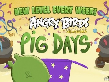 Angry Birds Seaons Pig Days Teaser Image