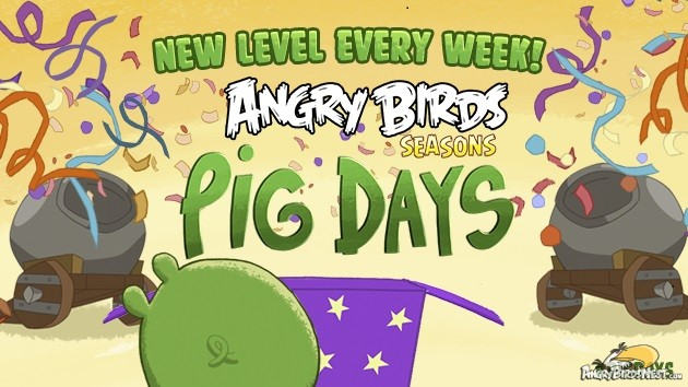 Angry Birds Seasons Pig Days Teaser Image