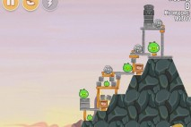 Angry Birds Seasons South HAMerica Level 1-1 Walkthrough
