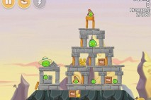Angry Birds Seasons South HAMerica Level 1-2 Walkthrough