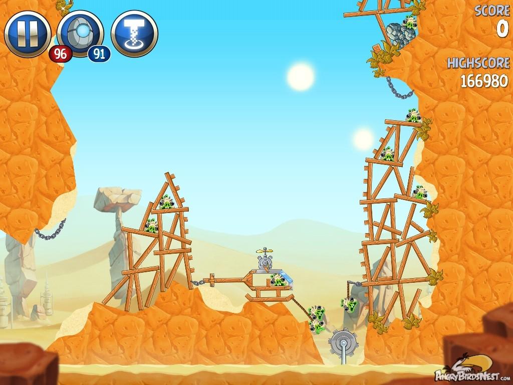 Angry birds star wars 2 master your destiny level bm 10 walkthrough