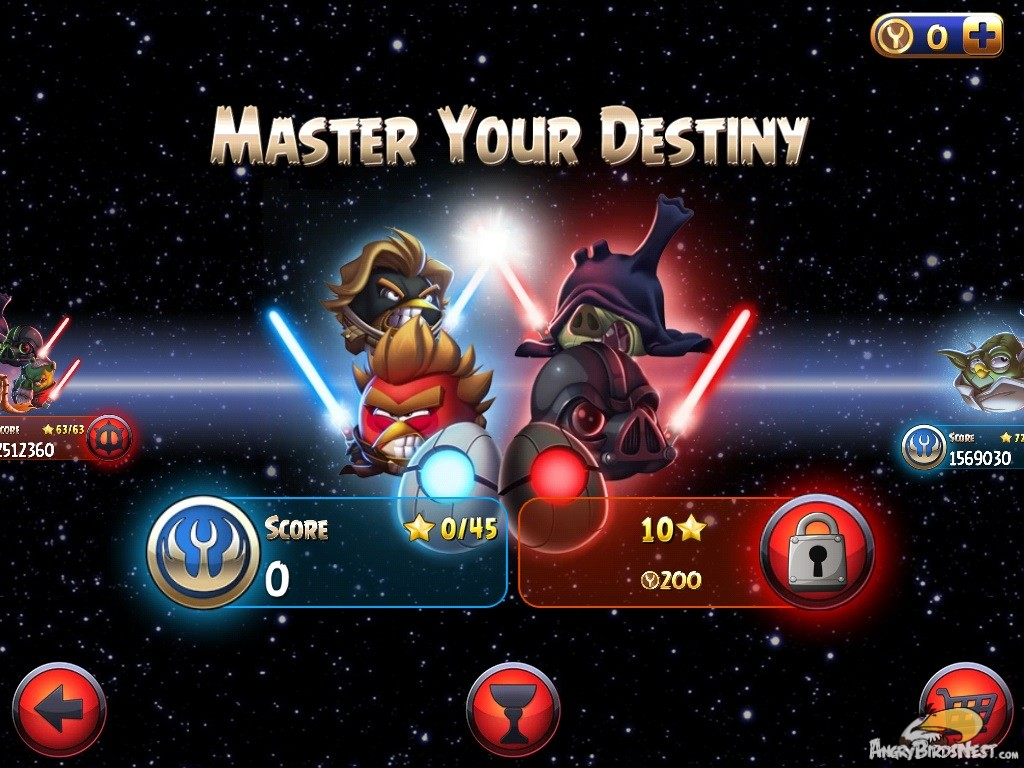 Angry Birds Star Wars II Master Your Destiny Update Out Now