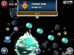 Angry Birds Star Wars 2 Master Your Destiny Level 1-1 Current Rank