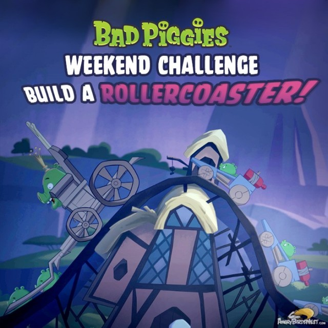 Bad Piggies Weekend Challenge