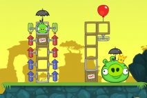 Multi stage Bad Piggies Rocket