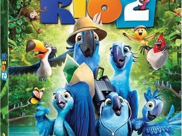 Rio 2 Blu Ray Cover