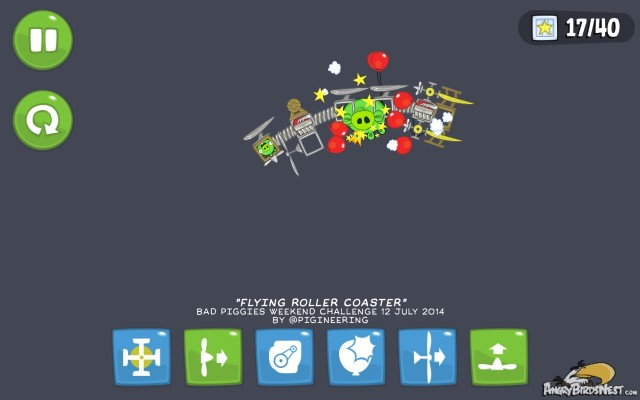 Bad Piggies Weekend Challenge Roller Coaster