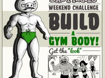 Bad Piggies Gym Body Weekend Challenge