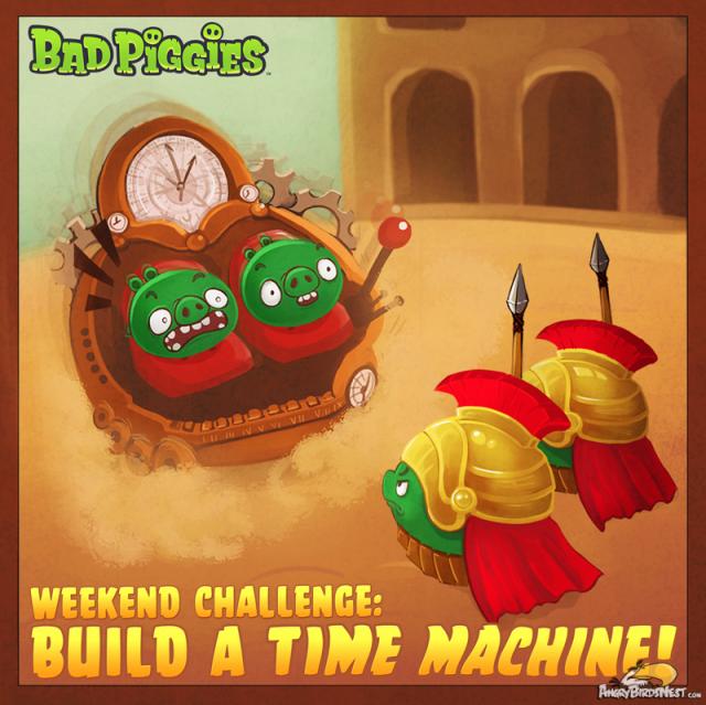 Bad Piggies Weekend Challenge - Time Machine