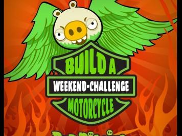 Bad Piggies Motorcycles Weekend Challenge