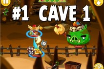 Angry Birds Epic Chronicle Cave 1 Shaking Hall Level 1 Walkthrough