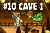 Angry Birds Epic Chronicle Cave 1 Shaking Hall Level 10 Walkthrough