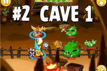 Angry Birds Epic Chronicle Cave 1 Shaking Hall Level 2 Walkthrough
