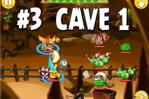 Angry Birds Epic Chronicle Cave 1 Shaking Hall Level 3 Walkthrough