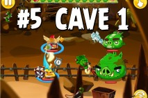 Angry Birds Epic Chronicle Cave 1 Shaking Hall Level 5 Walkthrough