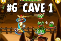 Angry Birds Epic Chronicle Cave 1 Shaking Hall Level 6 Walkthrough