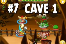 Angry Birds Epic Chronicle Cave 1 Shaking Hall Level 7 Walkthrough
