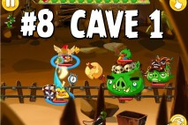 Angry Birds Epic Chronicle Cave 1 Shaking Hall Level 8 Walkthrough