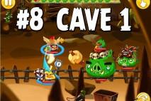 Angry Birds Epic Chronicle Cave 1 Shaking Hall Level 8 Walkthrough