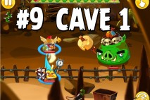 Angry Birds Epic Chronicle Cave 1 Shaking Hall Level 9 Walkthrough