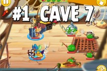Angry Birds Epic Forgotten Bastion Level 1 Walkthrough | Chronicle Cave 7