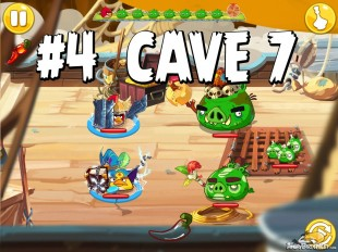 Angry Birds Epic Forgotten Bastion Level 4 Walkthrough | Chronicle Cave 7