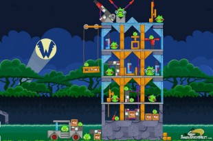 Angry Birds Friends Wingman II Revenge of the Cyporkador Tournament Level 1 Week 116 Walkthroughs | Aug 4th 2014