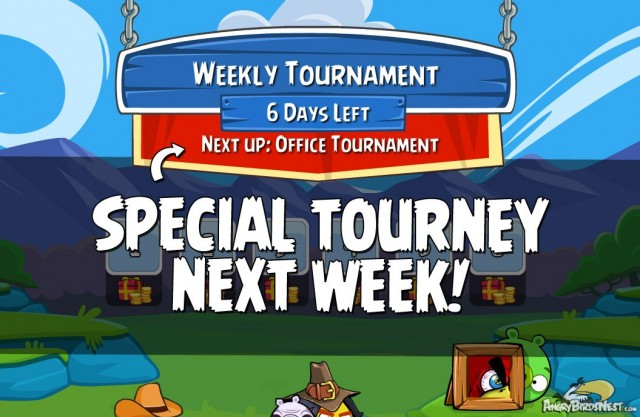 Angry Birds Friends Week 119 On Now Special Office Tournament Next Week
