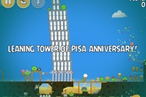 Angry Birds Seasons The Pig Days Level 1-4 Walkthrough | Leaning Tower of Pisa