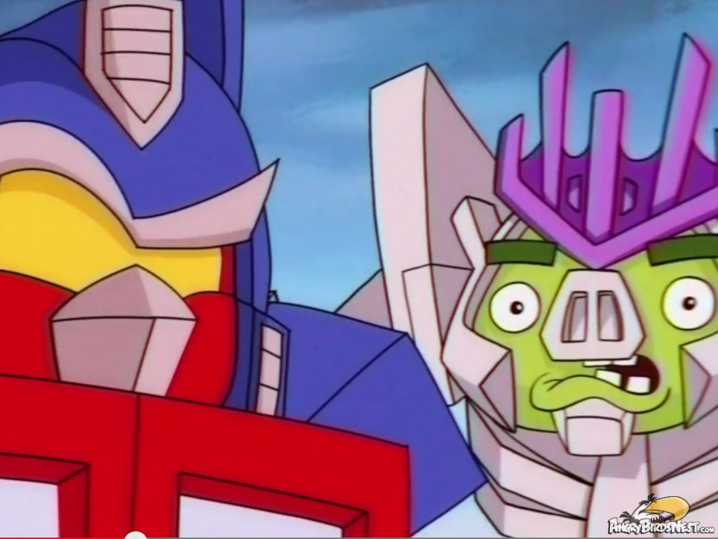 New Angry Birds Transformers Cinematic Trailer Goes Old School