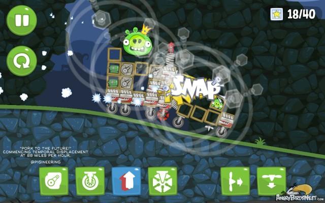 Bad Piggies Weekend Challenge Time Machine
