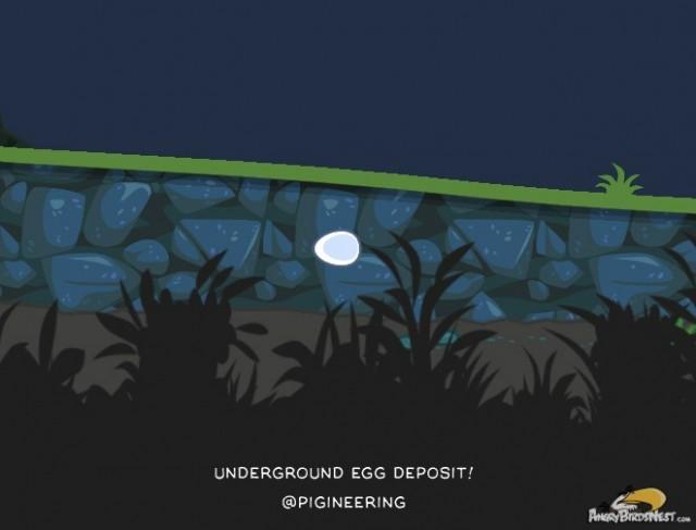 Underground mineral deposits