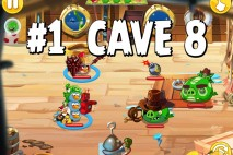 Angry Birds Epic Strange Site Level 1 Walkthrough | Chronicle Cave 8
