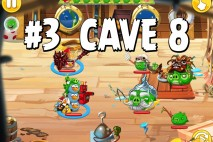 Angry Birds Epic Strange Site Level 3 Walkthrough | Chronicle Cave 8