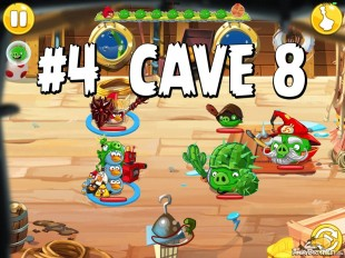 Angry Birds Epic Strange Site Level 4 Walkthrough | Chronicle Cave 8