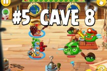 Angry Birds Epic Strange Site Level 5 Walkthrough | Chronicle Cave 8